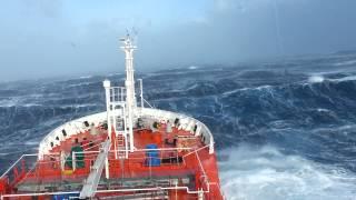 LPG/C Venere, Hurricane, 19/jan/2013