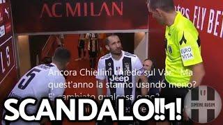 Chiellini e Mazzoleni: il video fake su Milan-Juventus ||| Speciale Avsim