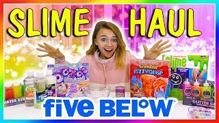 5 BELOW SLIME HAUL REVIEW | We Are The Davises