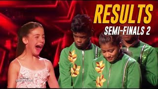 RESULTS: America's SHOCKING Votes Send These Acts To The Finals! | America's Got Talent 2019