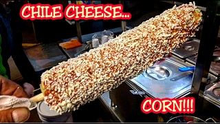 """EXTRAORDINARY STREET FOOD!!! MEXICAN STREET """"ELOTE"""" (PREPARED CORN MEXICAN STYLE!!!)"""