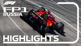 FP1 Highlights: 2021 Russian Grand Prix