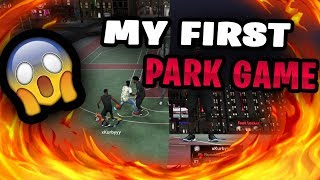 FIRST PARK GAME OF NBA 2K19 - INSANE STREET BALL MOVES!!!