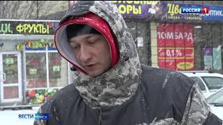 В Омске сегодня начались первые проверки ёлочных базаров