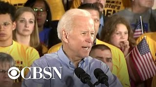 Joe Biden kicks off campaign with first rally in Pittsburgh