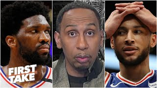 Stephen A. refuses to call Joel Embiid and Ben Simmons an 'elite duo' | First Take