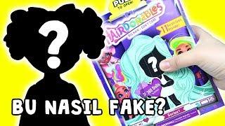 Fake Hairdorables Dev Gerçek Saçlı Bebeği - Bu Nasıl Çakma? Zep'in Oyuncakları