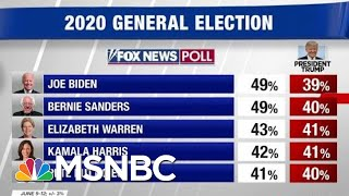 New Polling Backs Up Leaked Trump Internals Showing Him Behind Joe Biden | Hardball | MSNBC