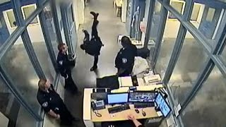 KARATE COP: Denver Jail Deputy SUSPENDED For Using Textbook TAEKWONDO KICKS and PUNCHES On Inmate!!