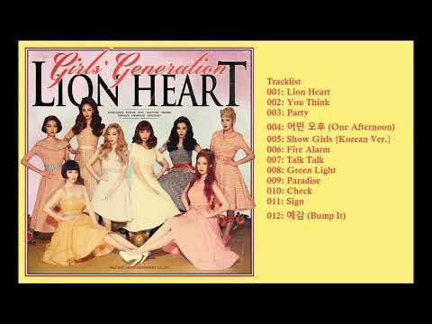 [Full Album] 소녀시대 (SNSD)- Lion Heart Album