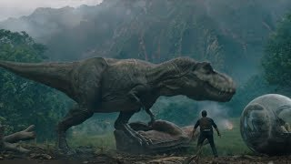 TYRANNOSAURUS REX vs CARNOTAURUS!!! (Jurassic World 2: The Fallen Kingdom)