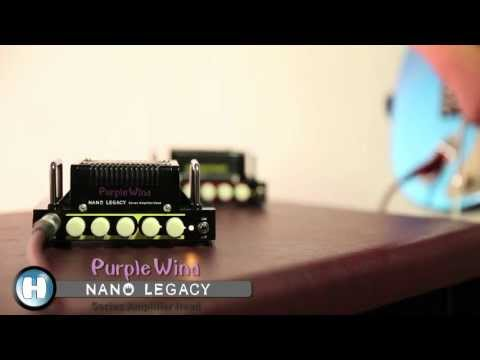 Hotone Nano Legacy  Purple Wind Head by GuitarCube