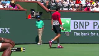 Hot Shot: Raonic vs. Djokovic