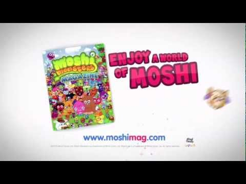 Moshi Monsters magazine launch promo