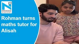 Watch: Sushmita Sen's boyfriend turns tutor for her daught..