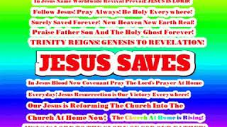 Jesus So So Good! Follow Jesus Never Ever Be Disappointed! JESUS IS LORD!