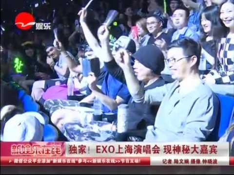 [healing_roll]150531EXO'luXion in Shanghai EXO上海演唱会 现神秘大嘉宾 장이씽 엑소 레이 张艺兴 yixing lay