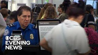 """TSA leaders worry about """"tipping point"""" for workers amid shutdown"""