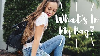 What's In My Bag | Kristin Lauria