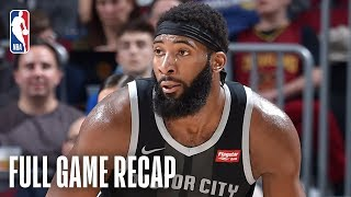 PISTONS vs CAVALIERS   Andre Drummond Records His 12th 20/20 Game Of The Season   March 18, 2019