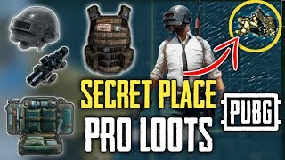 PUBG MOBILE Secret Island to Find The Best Loot Spot to get Pro Guns And Stuffs
