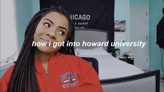 HOW I GOT INTO HOWARD UNIVERSITY Q&A #HU22