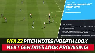 [TTB] FIFA 22 PITCH NOTES INDEPTH LOOK! - ACTUAL GAMEPLAY, NEW PLAYER SWITCHING ICONS,  & MORE!