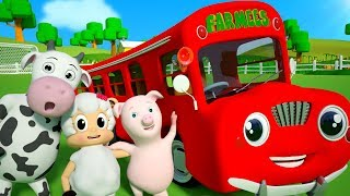 Räder im Bus | Kinderlieder | Wheels On The Bus | Kids Baby Club Deutschland