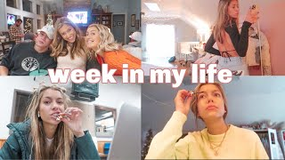 week in my life!!! school, thanksgiving, snowstorm, and so much more!