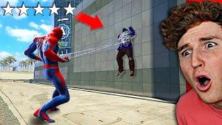 Playing As SPIDERMAN In GTA 5.. (GTA 5 Mods)