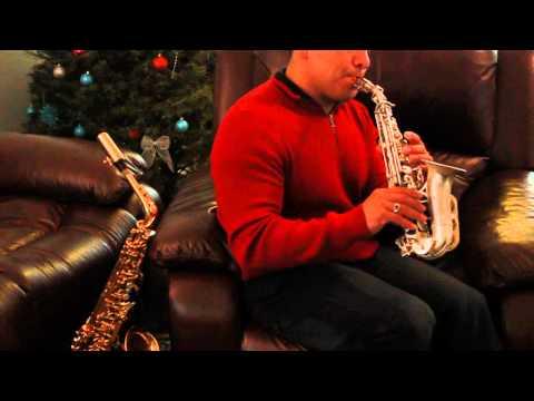 Yo me rindo a El / Jesus Adrian Romero / Sax soprano /I surrender all