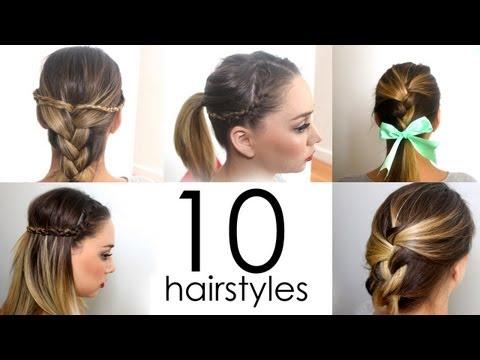 10 Easy School Hairstyles Short Long Chelsea Crockett