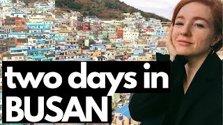 My Weekend Trip to Busan, Korea | VLOG