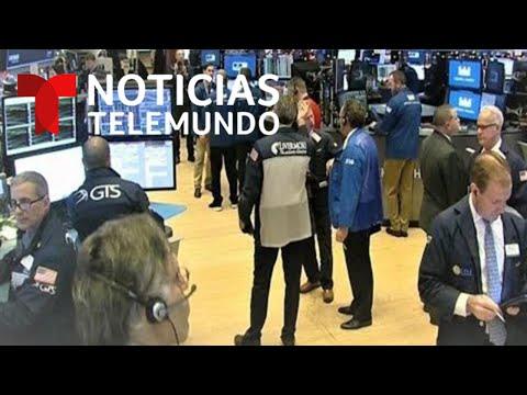 EN VIVO: Cae el Dow Jones de la Bolsa de Valores de New York | Noticias Telemundo