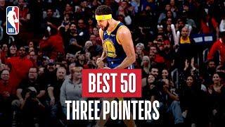 NBA's Best 50 Three Pointers | 2018-19 NBA Season