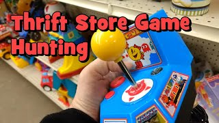 """Thrift Store Game Hunting #6: Lucky and Interesting Finds... (Plus Trip to a Local """"Flea Market"""")"""