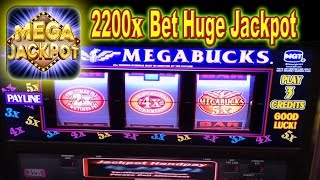 ★ MEGA JACKPOT 2200x BET ★ HIGH LIMIT SLOT MACHINE