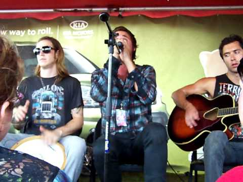 After Midnight Project - Words (acoustic) - Warped Tour 2010