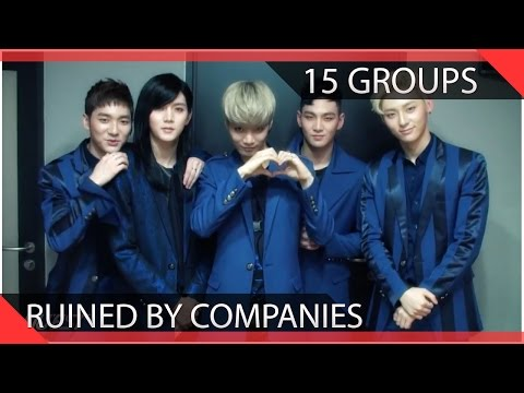 15 KPOP Groups Ruined By Their Companies