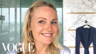 Malin Akerman's Morning Routine   Beauty Secrets   Vogue
