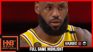Lakers vs Rockets Game 4   9.10.20   Full Game Highlights   2nd Round