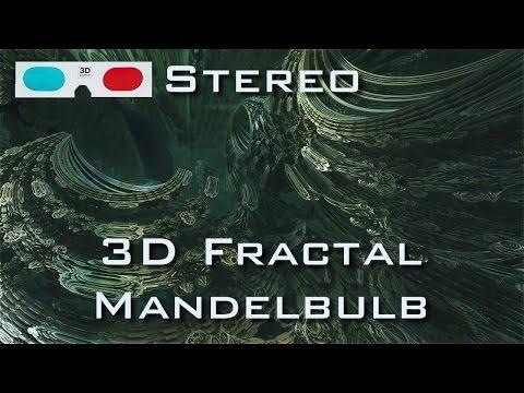 3D Fractal Omega Racer - Stereo Mandelbulb 3D HD
