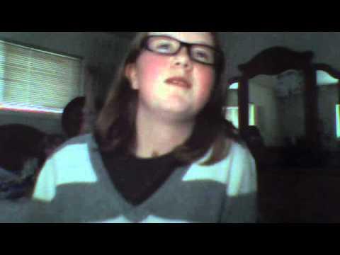 Cate singing TDG