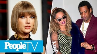 Taylor Swift Fans Are Mad At Kim Kardashian, Beyoncé & JAY-Z Celebrate His 48th Birthday | PeopleTV