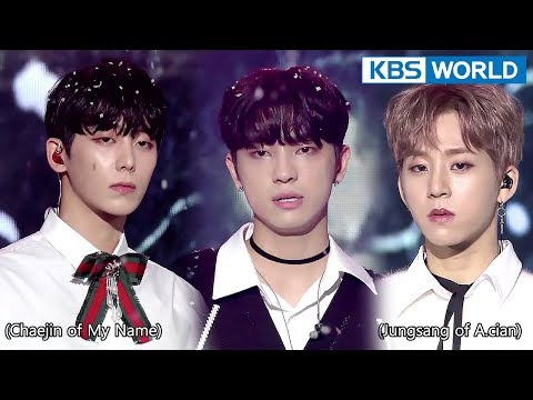 Male Vocal Green Unit - Miracles in December (original: EXO) [The Unit/2018.01.24]