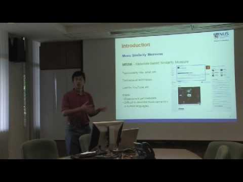 Personalized music similarity measure in multimodal music search - 1 - SIGIR'09