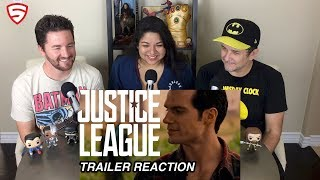 Justice League - Official Heroes Trailer Reaction and Review