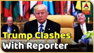 Trump clashes with reporter, calls him rude..