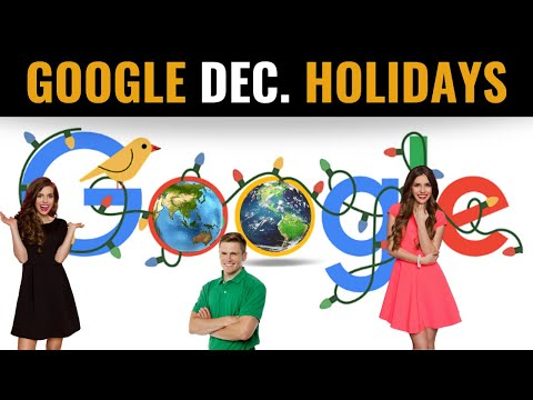 December Global Holidays | Google Doodle Explained in 6 Global Languages | Season's Greetings!