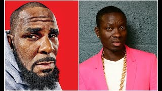 R Kelly singing to celebrate 51st birthday in studio with Michael Blackson, Scottie Pippen &Tyrese.